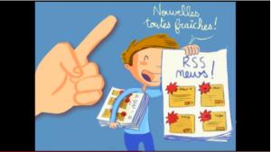 Le fil RSS expliqué aux enfants - Une vidéo disponible sur YouTube