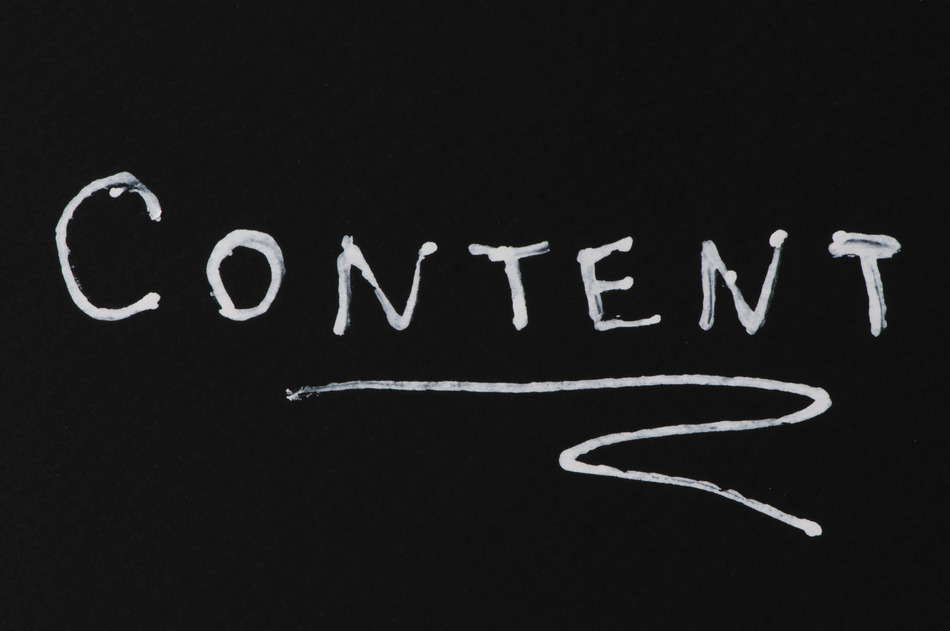 l'art de marketing de contenu web
