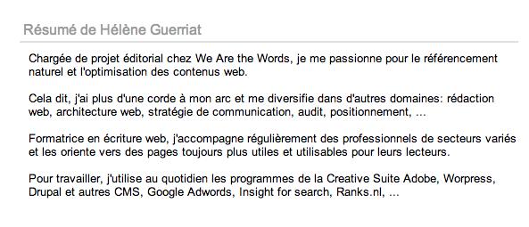 u00c9crire pour le web