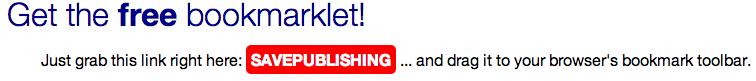 SavePublishing - We Are the Words