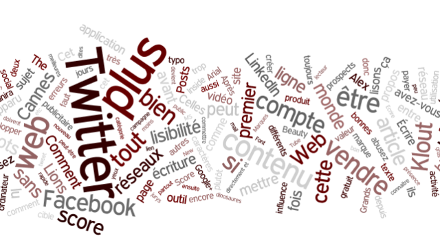 Tagclouds-We Are the Words