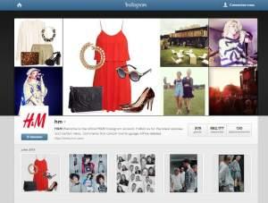 H&M stratégies sur les réseaux sociaux