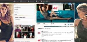 H&M et sa stratégie sur les réseaux sociaux