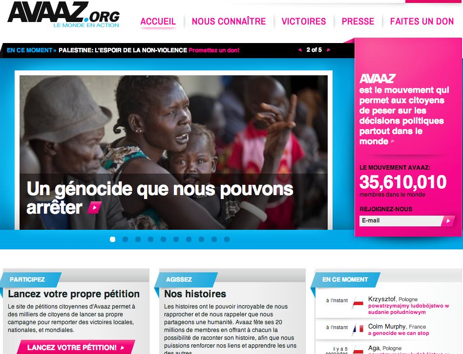 Avaaz - Les 3 dynamiques sociales qui caractérisent une communauté