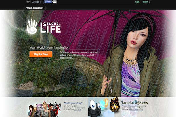 Second Life et les 4 types de communautes