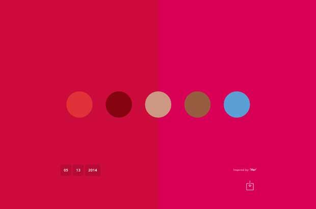 Crire pour le web comment trouver une palette de couleurs facilement - Trouver des palettes ...