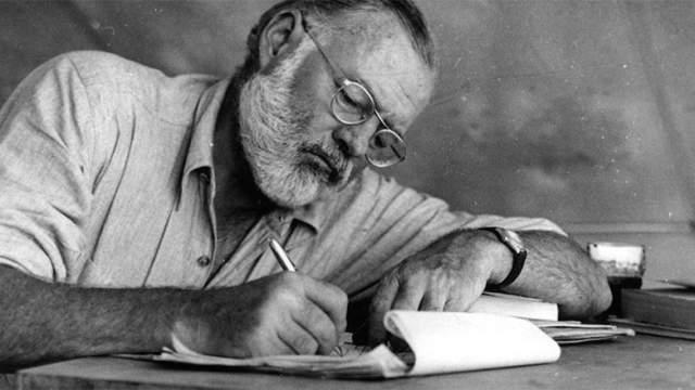 Les 5 conseils d'écriture d'Ernest Hemingway