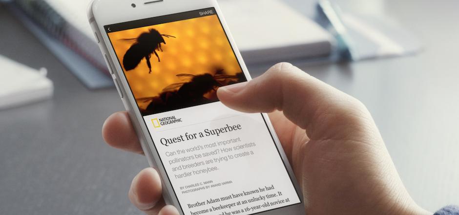 Instant Articles, encore plus de contenus natifs sur Facebook