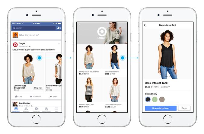 Le nouvel E-Commerce sur Mobile grâce à Facebook Canvas