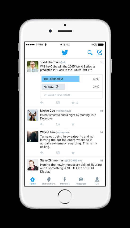 Twitter polls: le sondage pour tous