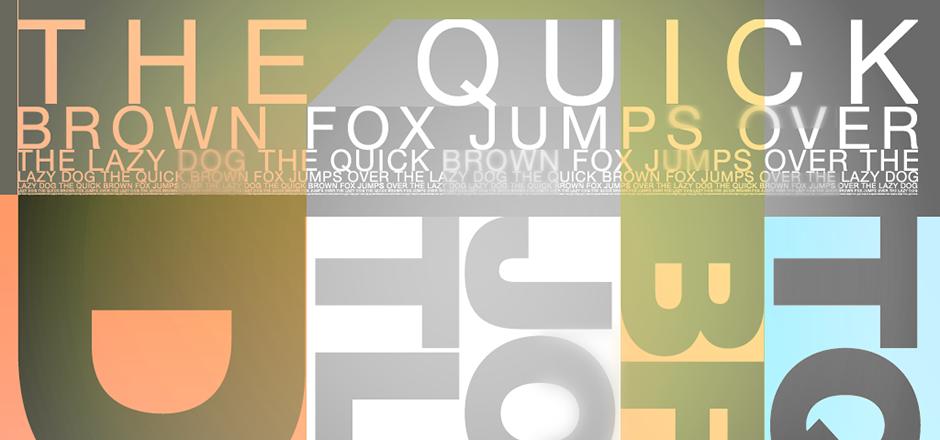 Les 5 commandements de la typographie