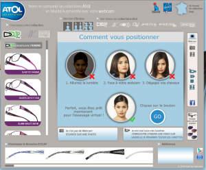 L'application virtuelle d'Atol: essayez des lunettes de chez vous!