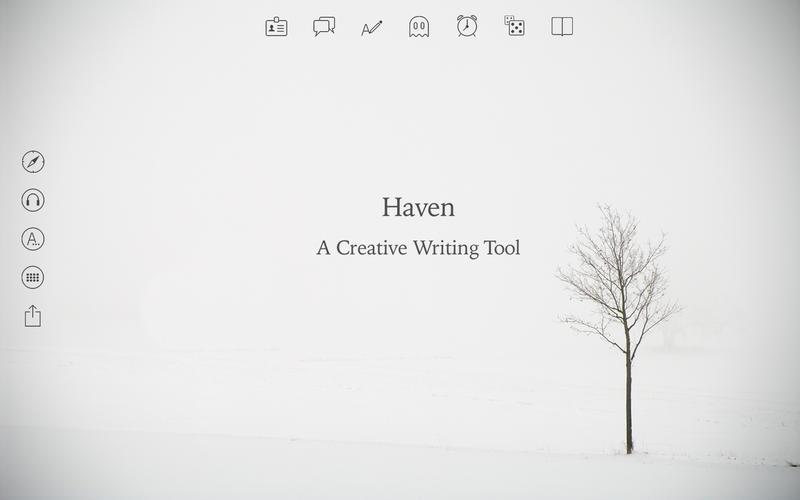 Haven: un endroit où il fait bon écrire