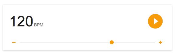 Métronome Google