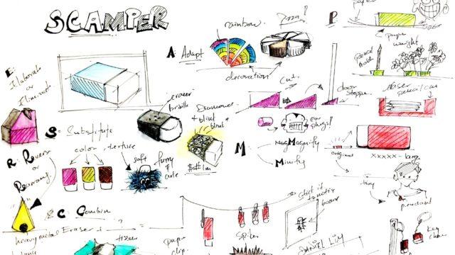 La méthode SCAMPER illustrée