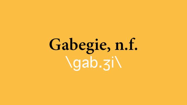 Gabegie