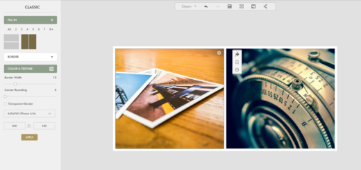 editer des photos-collage