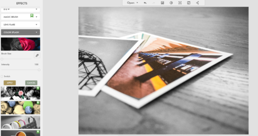 editer des photos-effets