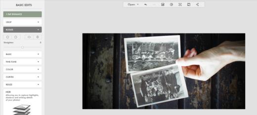 editer des photos-retouches