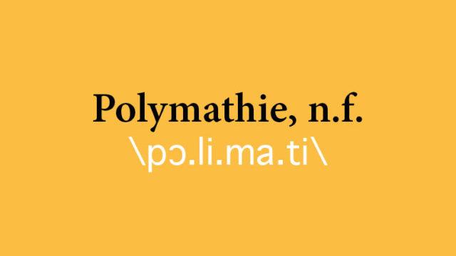 Polymathie