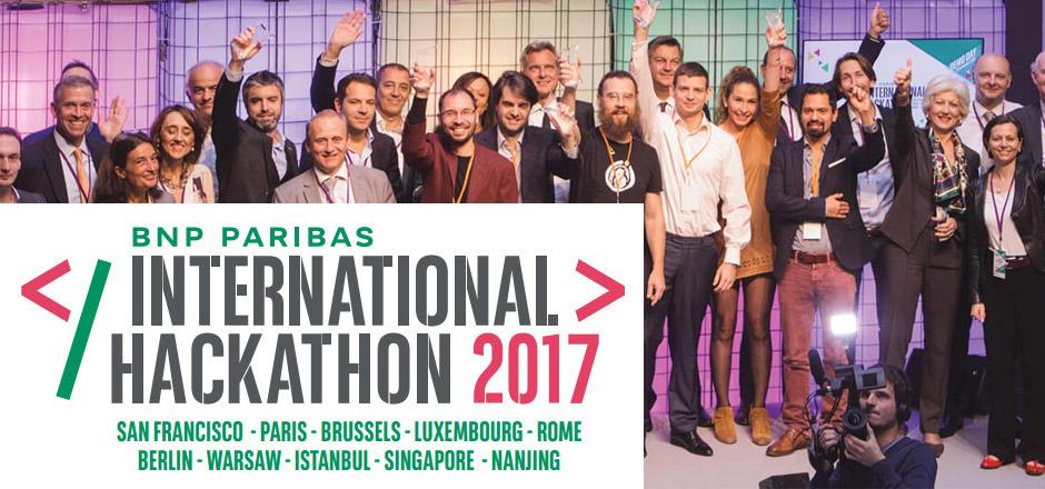 Hackathon international de BNP Paribas : incubez votre projet fintech à Bruxelles