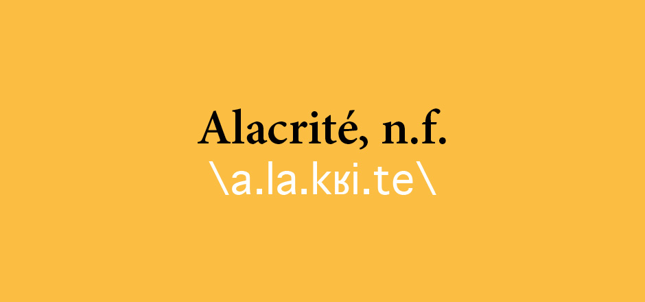 Alacrité